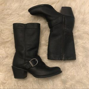 Durango Black Leather Philly Boots